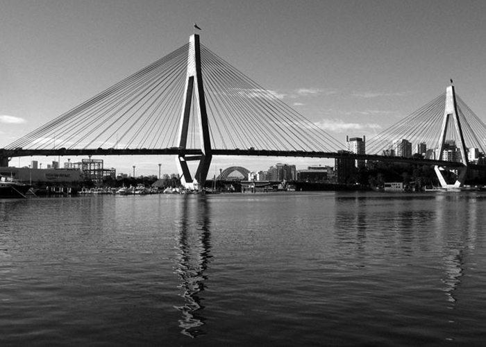 Anzac Bridge - Bridge Ahoy!