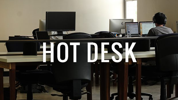 Hot Desk at Information & Cultural Exchange