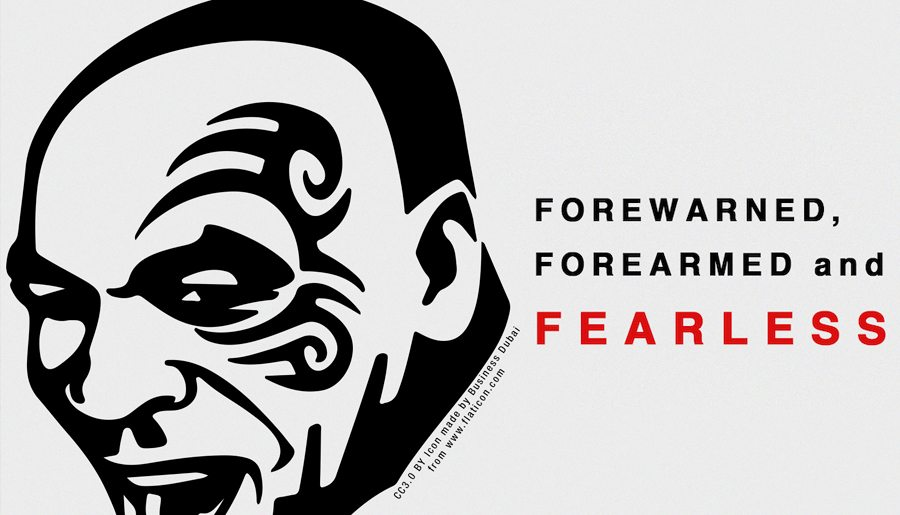 FOREWARNED, FOREARMED AND FEARLESS - Information & Cultural Exchange