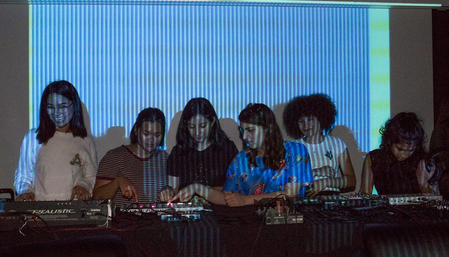 Musical Experiments at All Girl Electronic - Information & Cultural Exchange