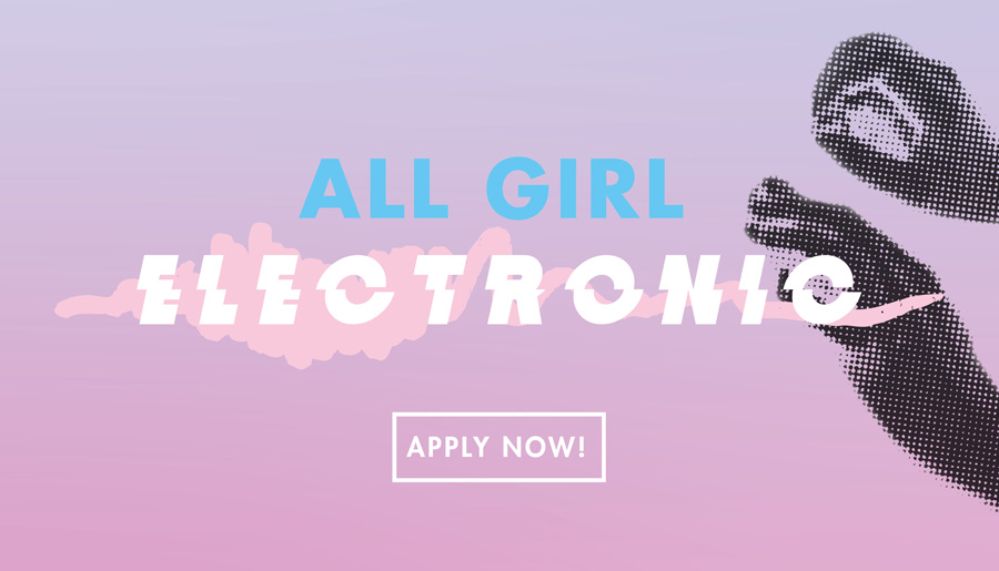 All Girl Electronic – Taster Workshop at UNE FutureCampus - Information & Cultural Exchange