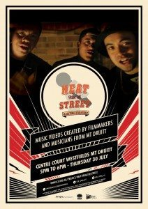 Heat From The Street - Flyer