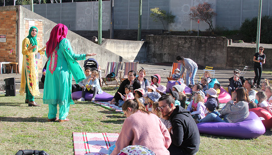 Spellbound Storytime @ WOW Festival - Information & Cultural Exchange